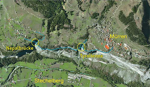 Klettersteig Map : Klettersteig